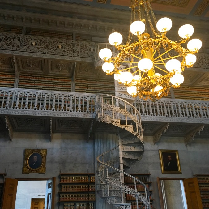 Library at State House